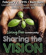 February 2015 Living Free Community One Day Regional Conference