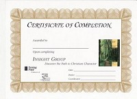 Insight Group Certificate of Completion