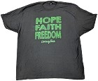 Black - Hope-Faith-Freedom T-shirt