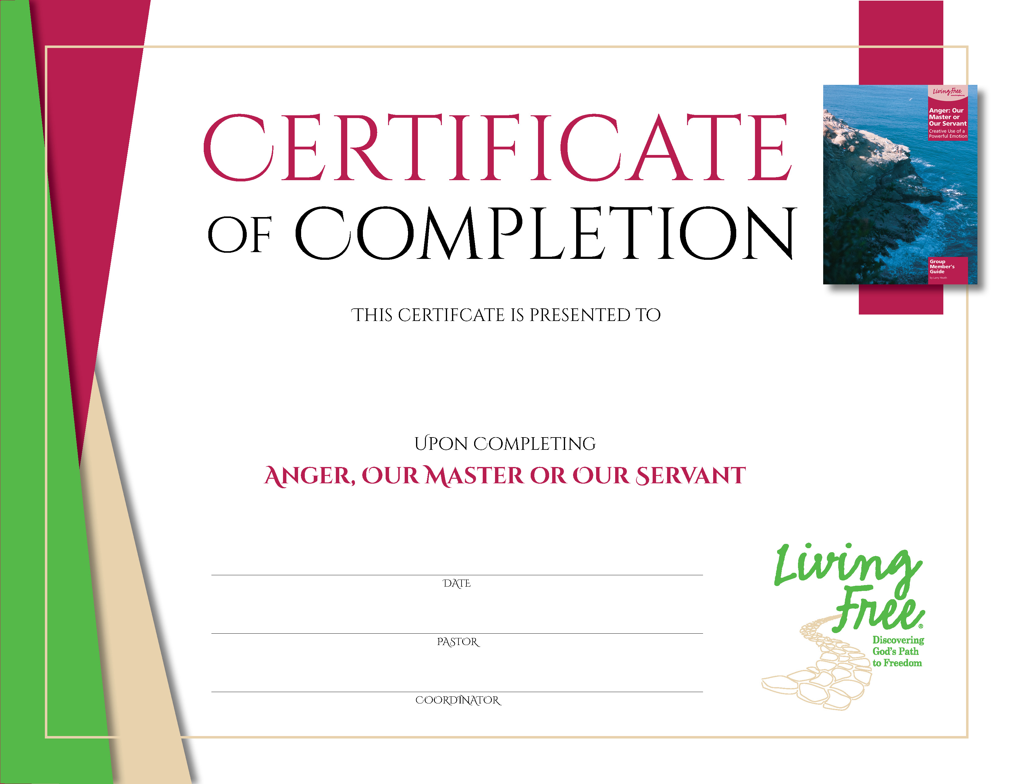 Anger: Digital Certificate