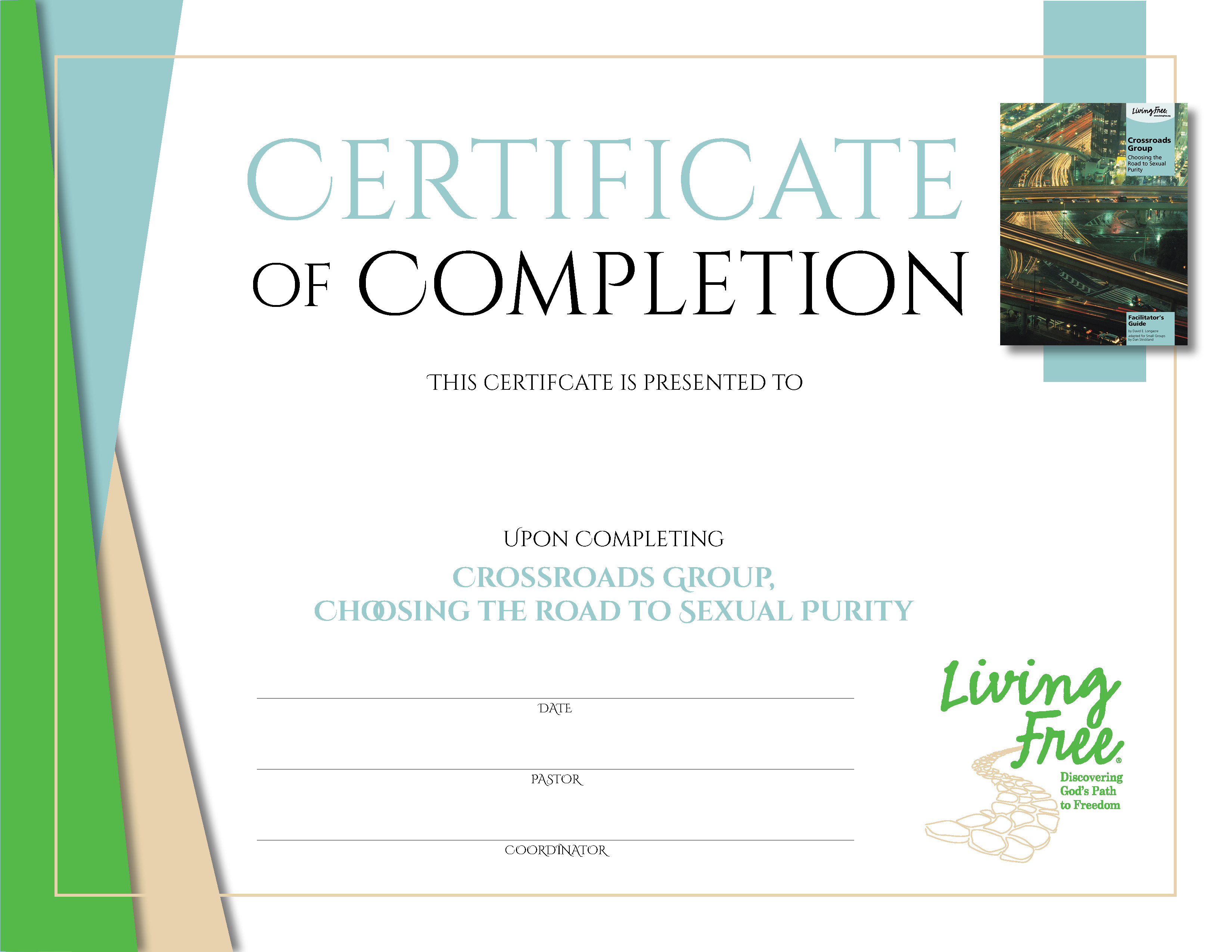 Crossroads Digital Certificate