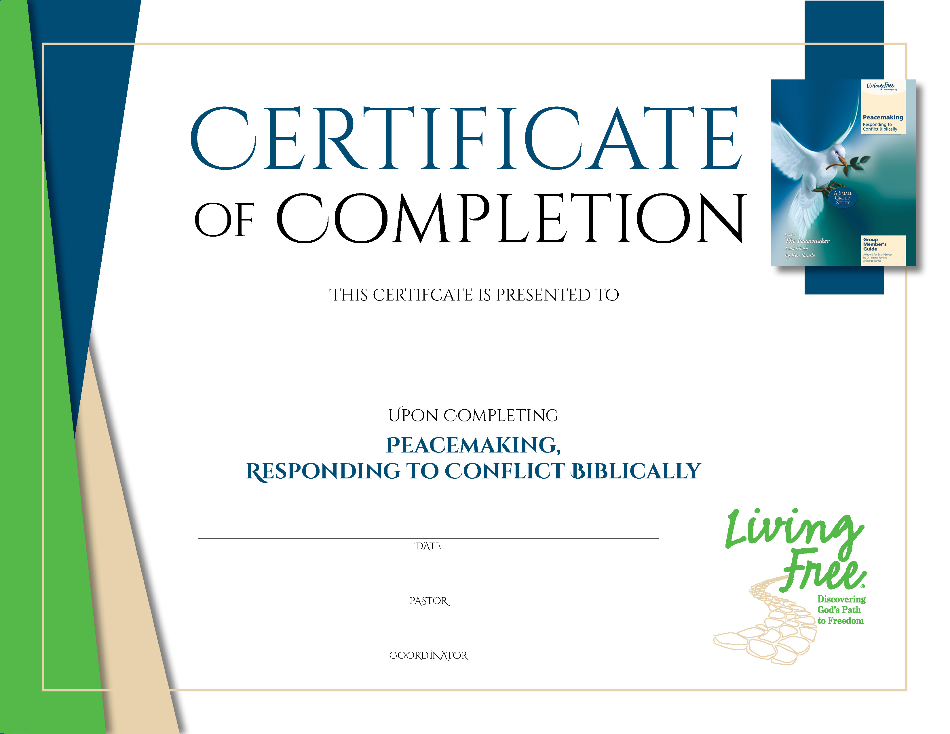 Peacemaking Digital Certificate