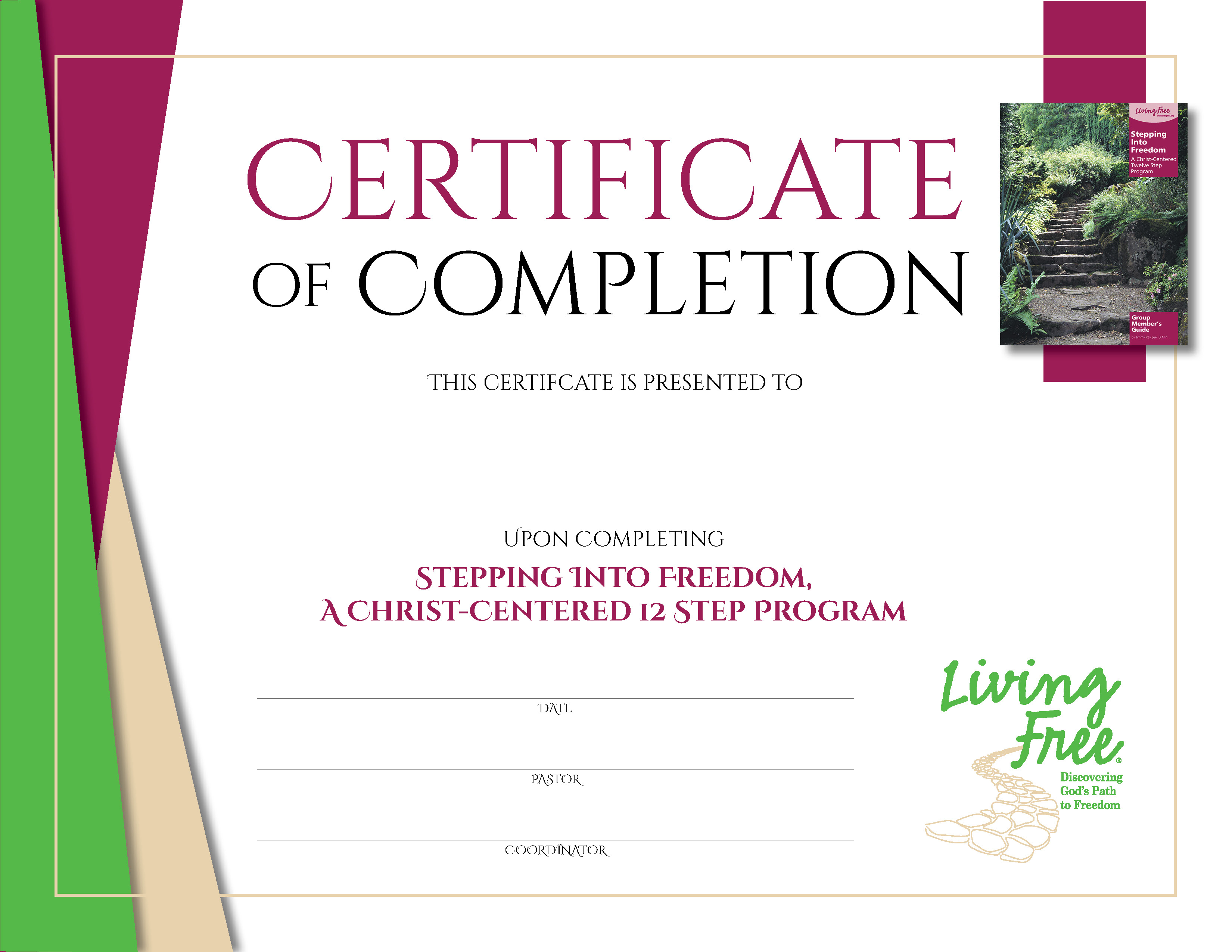 Stepping into Freedom Digital Certificate