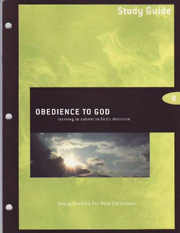 Obedience to God Study Guide