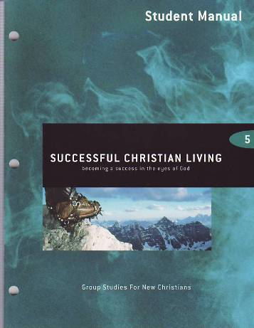 Successful Christian Living Student Manual