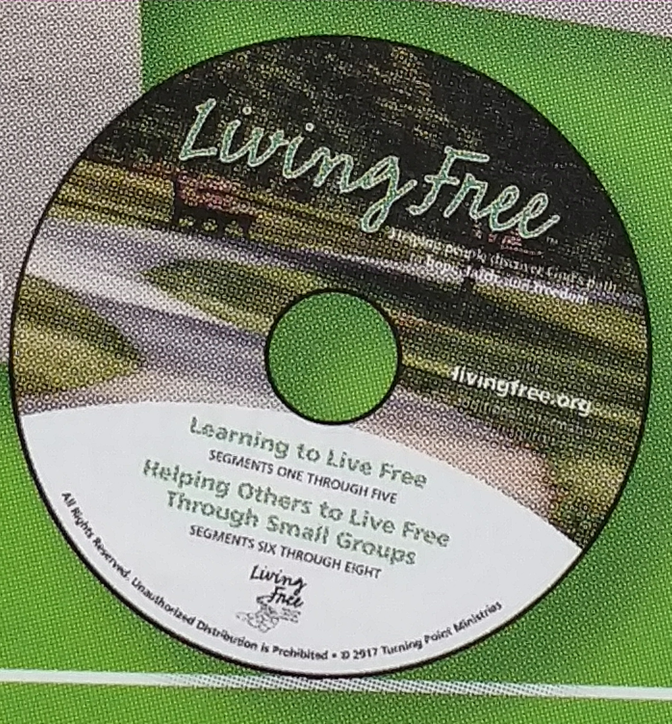 MP4 for Living Free Video Training - Sessions 1-8