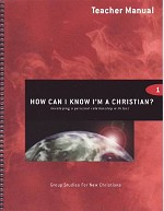 How Can I Know I'm a Christian? Teacher Manual