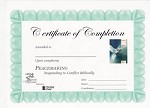 Peacemaking Certificate of Completion