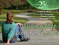 2014 Living Free Conference - 8 DVD Set