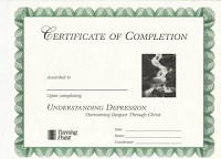 Understanding Depression Certificate of Completion